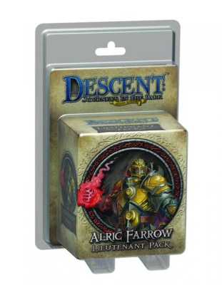 Descent Road to Legend Miniatures: Alric Farrow