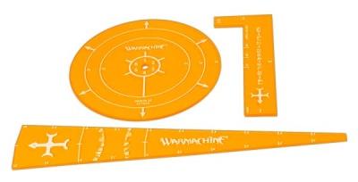WARMACHINE Menoth Template Set (acrylic)