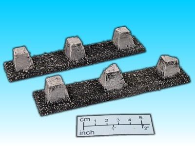 Geländestück Panzersperre (2)