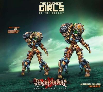 #42, Cyber Zombie Bodyguard (1) (IE)
