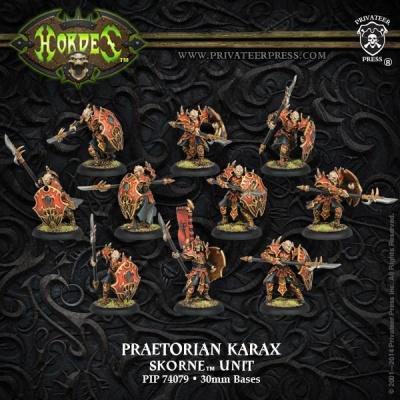 Skorne Praetorian Karax Unit Box (10)