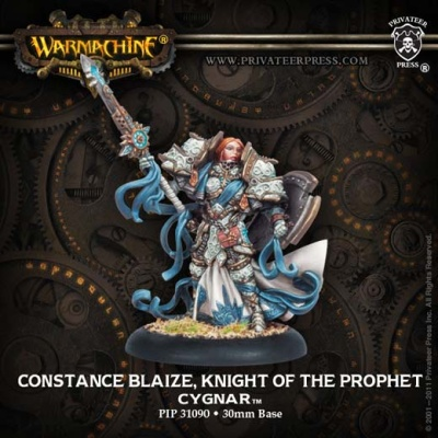 Warcaster Constance Blaize, Knight of the Prophet
