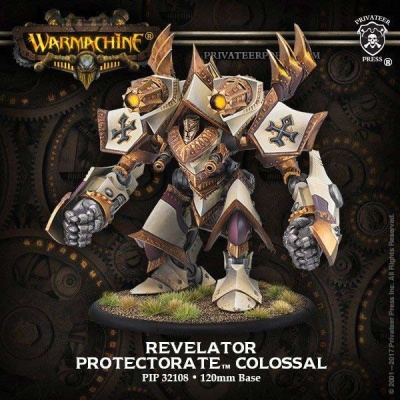 Judicator/Revelator Protectorate of Menoth Colossal(plastic)