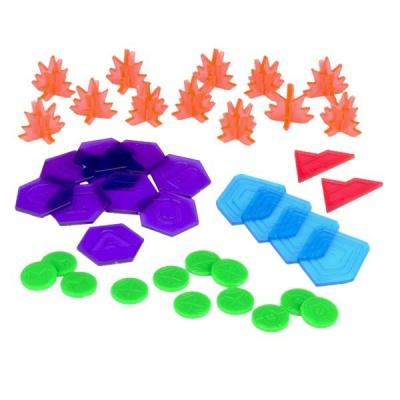 Warpath Plastic Counter Set