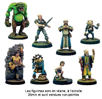 Dungeon Twister Miniaturen Set