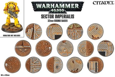 Sector Imperialis: Rundbases (32 mm) (60)