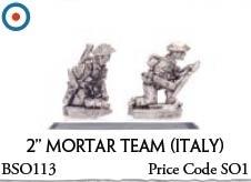 """2"""" Mortar Team italy (Italy)"""