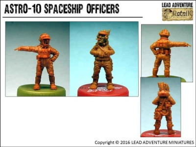 Spaceship Officers (2)