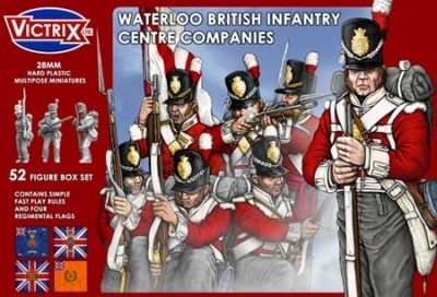 Waterloo British Infantry Centre Companies