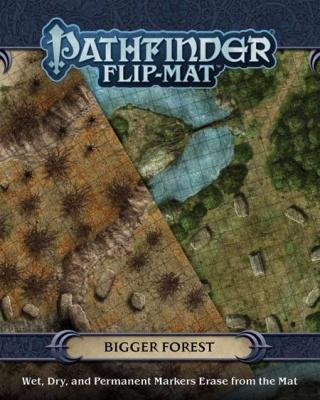 Pathfinder Flip Mat: Bigger Forest