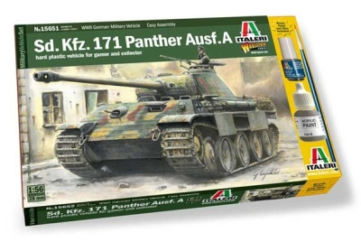 1:56/28mm WW2 Panther Ausf.A OOP