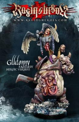 Gluttony - FANTASY, Heroic size