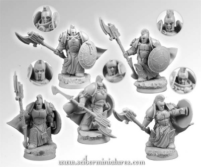 28mm Spartan SF Veterans set (5)