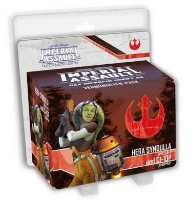SW: Imperial Assault Hera Syndulla und C1-10P