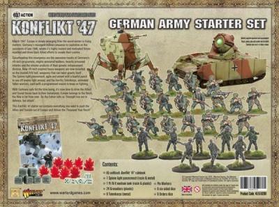 Konflikt`47 German Starter Set