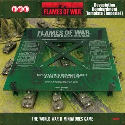 Green Devastating Bombardment Template: Imperial