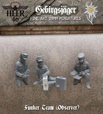 Gebirgsjäger Observer Funker (3)