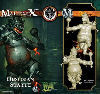 Obsidian Statue (1)
