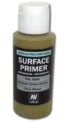 Vallejo Primer German Green Brown (Polyu.) (60ml)