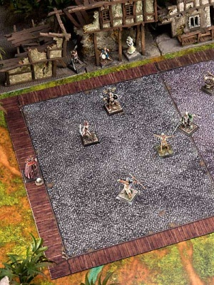 Ironball gaming mat