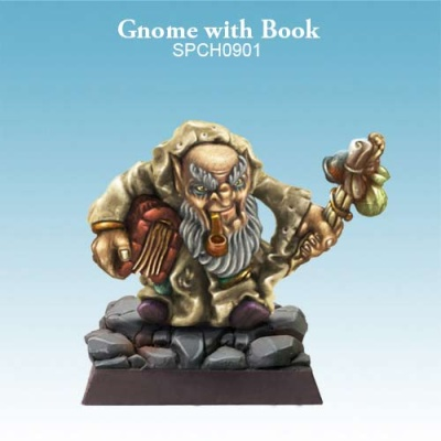 Gnome with Book