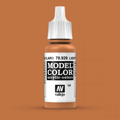 Model Color 129 Hellbraun (Light Brown) (929)