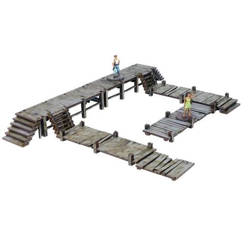 Nanhai Wooden Low Docks