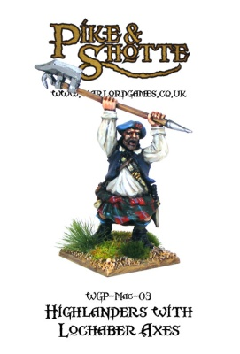 Highlanders with Lochaber Axes (6) (OOP)