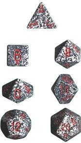 Chessex Granite Speckled 7-Die Set