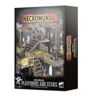 Necromunda: Zone Mortalis Platforms and Stairs