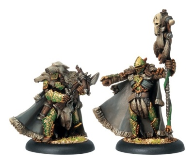 Circle Of Orboros Reeves of Orboros Chieftain & Standard
