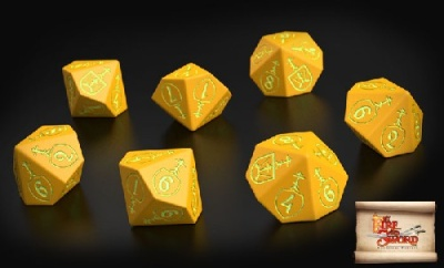 Muscovite dice (10)