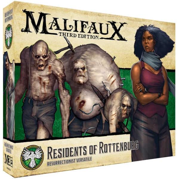 Malifaux (M3E): Residents of Rottenburg