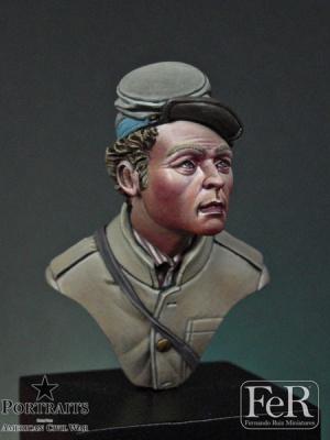 Confederate Infantryman, 1863