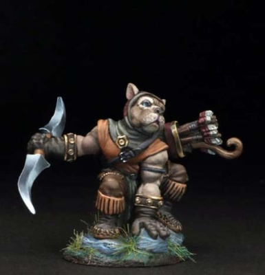 Pitbull Ranger w Double Bladed Sword