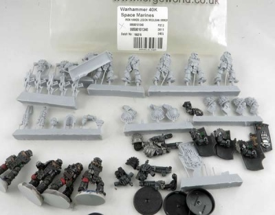 FORGEWORLD: Iron Hands Medusan Immortals (5)