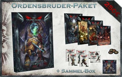 WH40K Wrath & Glory Box Ordensbruder-Paket