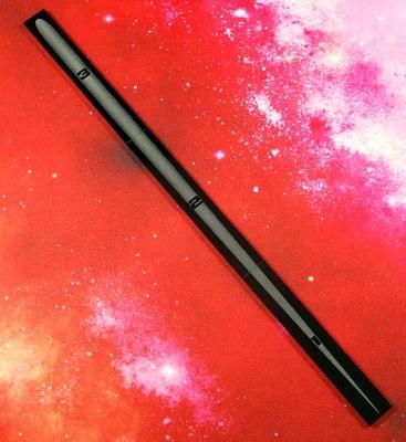 Space Fighter Range Ruler BLACK
