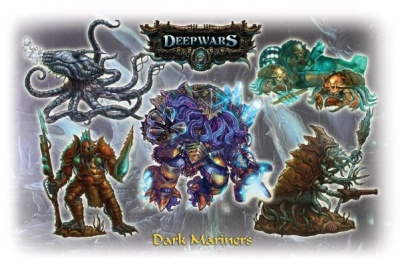 Deep Wars Deluxe Starter: Dark Mariners (5)