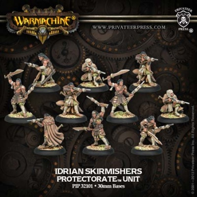 Protectorate Idrian Skirmishers Idrian Ally Unit Box (10)