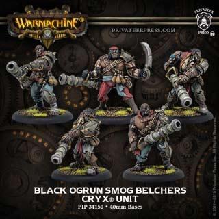 Cryx Black Ogrun Smog Belchers