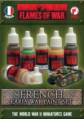 French Early War Paint Set (6)