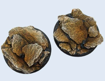 Shale Bases, 55mm Round (1)