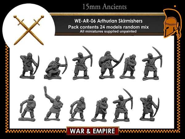 Arthurian - Militia archers and slingers
