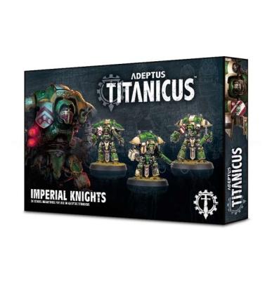 Adeptus Titanicus: Questoris Knights (MO)