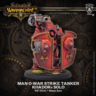 Man-O-War Strike Tanker - Khador