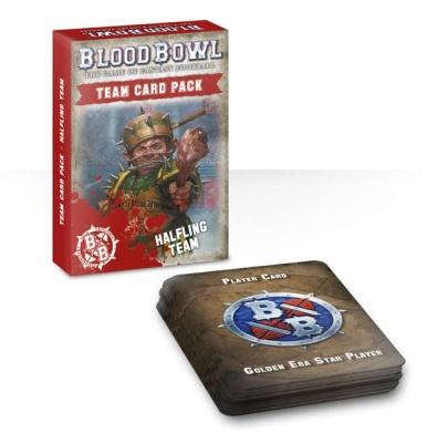 Blood Bowl: Halfling Teamkarten ENGLISCH