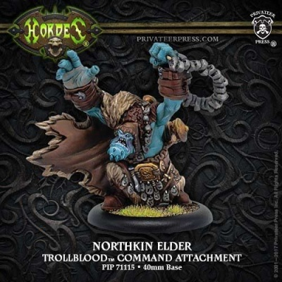 Northkin Elder - Trollblood Command Attachment