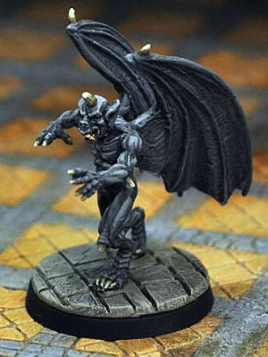 Gargoyle, attacking