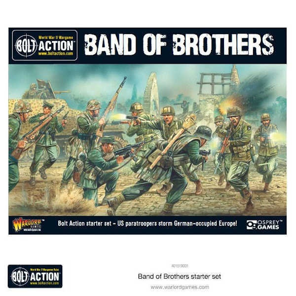 """Bolt Action 2 Starter Set """"Band of Brothers"""" ENGLISCH"""